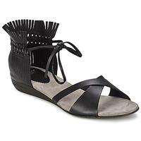 鞋子 女士 凉鞋 Fru.it TRIVENTA 黑色