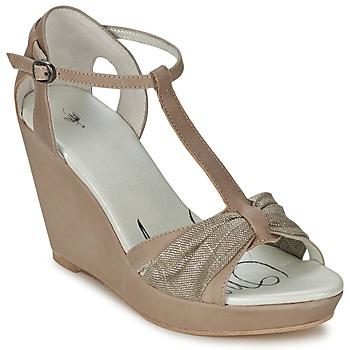 鞋子 女士 凉鞋 One Step CEANE 灰褐色 / 金色 / 灰褐色