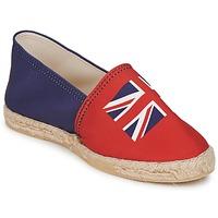鞋子 女士 帆布便鞋 Be Only KATE 红色-蓝色