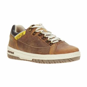 鞋子 男士 球鞋基本款 Caterpillar APA 棕色