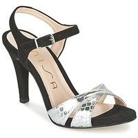 鞋子 女士 凉鞋 Unisa WARIAN 黑色 / 银色