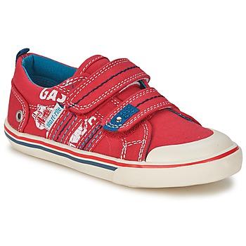 鞋子 男孩 球鞋基本款 Start Rite GASOLINE 红色