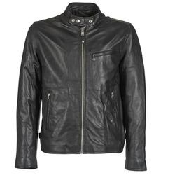 衣服 男士 皮夹克/ 人造皮革夹克 Schott BLODOU 黑色