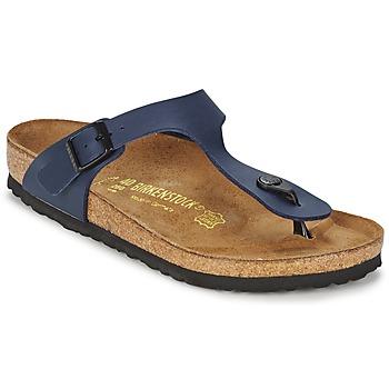 鞋子 凉鞋 Birkenstock 勃肯 GIZEH 蓝色