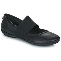 鞋子 女士 平底鞋 Camper 看步 RIGHT NINA 黑色