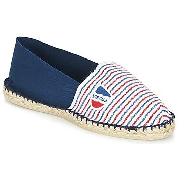 鞋子 帆布便鞋 1789 CLASSIQUE BICOLORE 蓝色 / 白色 / 红色