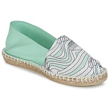鞋子 女士 帆布便鞋 1789 CLASSIQUE IMPRIMEE 水 / 白色