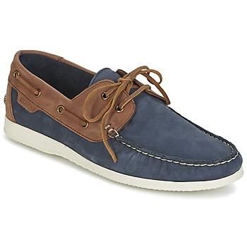 鞋子 男士 船鞋 Ben Sherman 宾舍曼 OAUK BOAT SHOE 海蓝色 / 棕色
