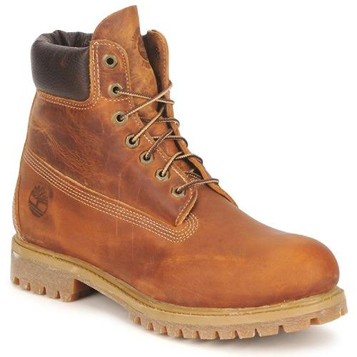 鞋子 男士 短筒靴 Timberland 添柏岚 HERITAGE 6 IN PREMIUM 棕色