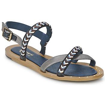 鞋子 女士 凉鞋 Schmoove MEMORY LINK 银色 / 海蓝色