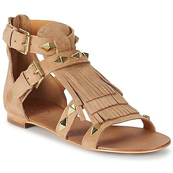 鞋子 女士 凉鞋 Ash 艾熙 MASCARA 米色