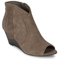 鞋子 女士 短靴 Ash 艾熙 DRUM 灰褐色