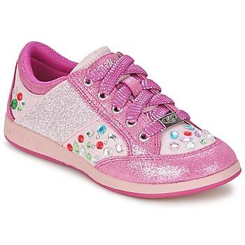鞋子 女孩 球鞋基本款 Lelli Kelly GLITTER-ROSE-CALIFORNIA 玫瑰色