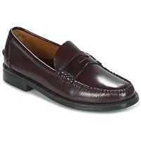 鞋子 男士 皮便鞋 Sebago 仕品高 GRANT 茄子紫