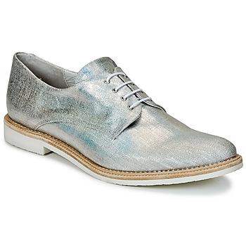 鞋子 女士 德比 Miista ZOE 银色 / Scintillant