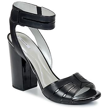 鞋子 女士 凉鞋 Geox 健乐士 NOLINA 黑色