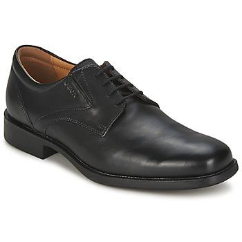 鞋子 男士 德比 Geox 健乐士 FEDERICO 黑色