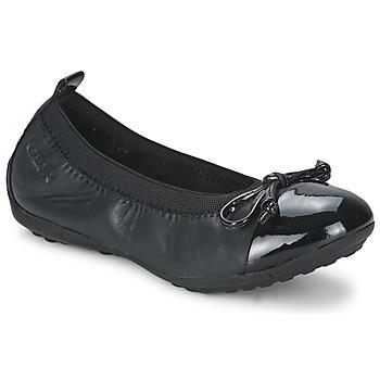鞋子 女孩 平底鞋 Geox 健乐士 PIUMA BALLERINE 黑色