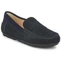 鞋子 男孩 皮便鞋 Geox 健乐士 FAST 蓝色