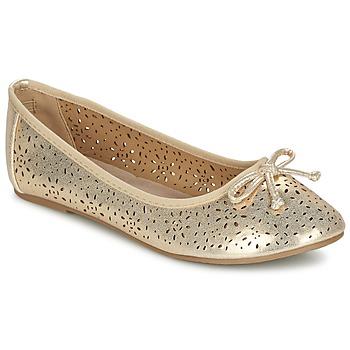 鞋子 女孩 平底鞋 Xti 波尔蒂伊 JANIN 金色
