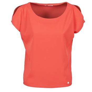 衣服 女士 短袖体恤 Les P'tites Bombes S145003 红色
