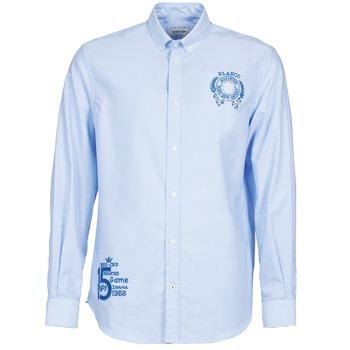衣服 男士 长袖衬衫 Serge Blanco ANTONIO 蓝色