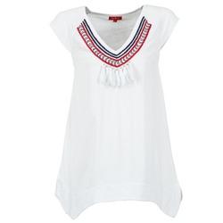 衣服 女士 短袖体恤 Derhy GALION 白色