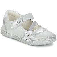 鞋子 女孩 平底鞋 Primigi ROSELINE-E 银色