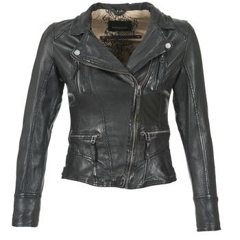 衣服 女士 皮夹克/ 人造皮革夹克 Oakwood CAMERA 黑色