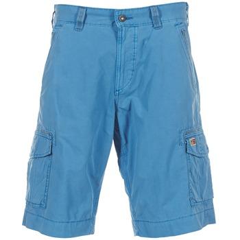 衣服 男士 短裤&百慕大短裤 Napapijri PORTES A 蓝色