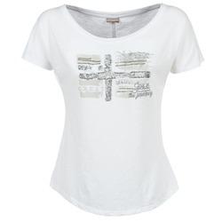 衣服 女士 短袖体恤 Napapijri SINK 白色