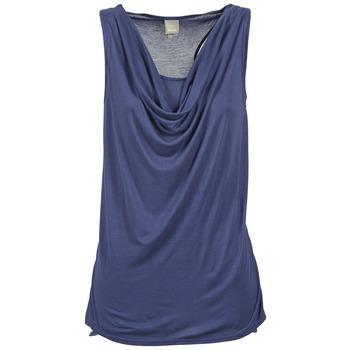 衣服 女士 无领短袖套衫/无袖T恤 Bench 奔趣 DUPLE 蓝色