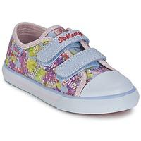 鞋子 女孩 球鞋基本款 Pablosky MIDILE 多彩