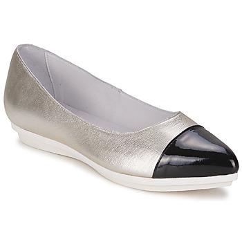 鞋子 女士 平底鞋 Alba Moda DRINITE 銀灰色 / 黑色