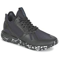 鞋子 球鞋基本款 Adidas Originals 阿迪达斯三叶草 TUBULAR RUNNER 黑色
