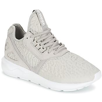 鞋子 女士 球鞋基本款 Adidas Originals 阿迪达斯三叶草 TUBULAR RUNNER W 灰色