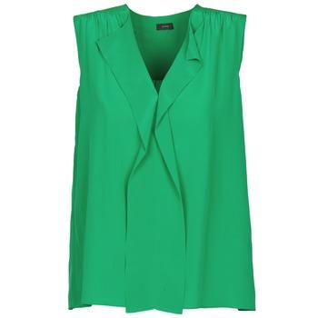 衣服 女士 無領短袖套衫/無袖T恤 Joseph DANTE 綠色