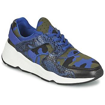 鞋子 女士 球鞋基本款 Ash 艾熙 MATRIX 蓝色 / 迷彩