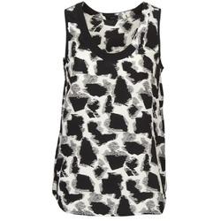 衣服 女士 无领短袖套衫/无袖T恤 Joseph DEBUTANTE 黑色 / 白色 / 灰色