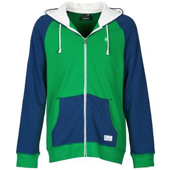 衣服 男士 卫衣 Nixon ANCHOR 蓝色 / 绿色