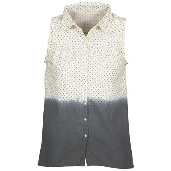 衣服 女士 衬衣/长袖衬衫 Teddy Smith 泰迪 史密斯 CAMILLE 蓝色 / 浅米色