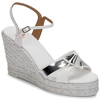 鞋子 女士 凉鞋 Castaner BESSIE 白色 / 银色