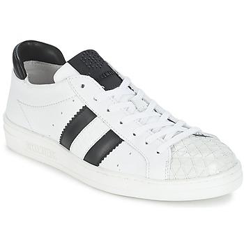 鞋子 女士 球鞋基本款 Bikkembergs BOUNCE 594 LEATHER 白色 / 黑色