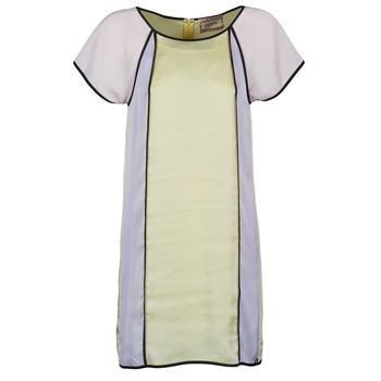 衣服 女士 短裙 Chipie FREGENAL 黄色 / 灰色