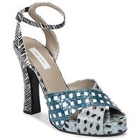 鞋子 女士 凉鞋 Marc Jacobs Elap 蓝色 / 白色