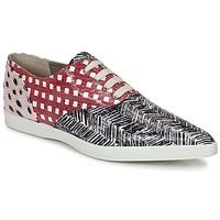 鞋子 女士 德比 Marc Jacobs Elap 黑色 / 白色 / 红色