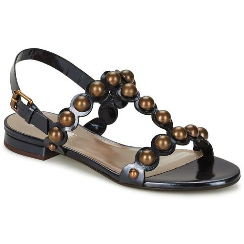 鞋子 女士 凉鞋 Marc Jacobs Vegetal 黑色