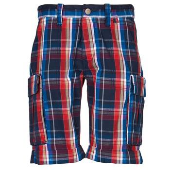 衣服 男士 短裤&百慕大短裤 Oxbow TAKAROA 海蓝色 / 红色