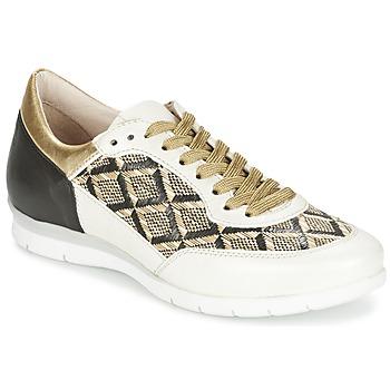 鞋子 女士 球鞋基本款 Mjus FORCE 黑色 / 白色 / 金色