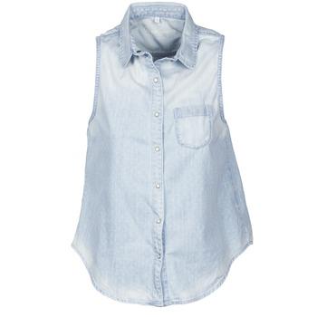 衣服 女士 短袖衬衫 Pepe jeans POCHI 蓝色